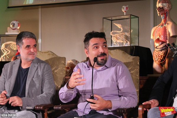 Esteve Ferrer y Julio Awad