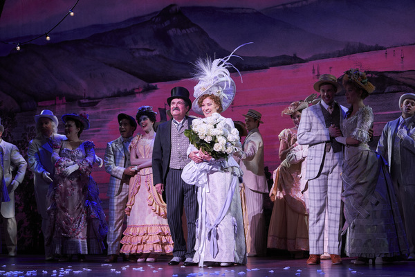 Betty Buckley and the Cast of Hello, Dolly!
