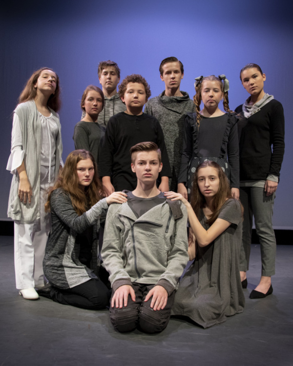 Photo Flash: Experience THE GIVER Live In Black And White