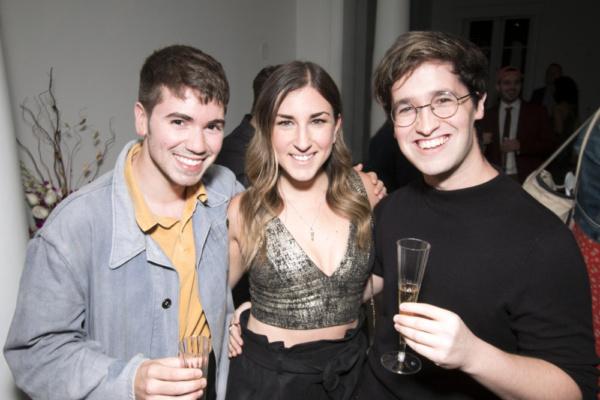 Noah Galvin, Lindsay Lavin and Michael Kushner