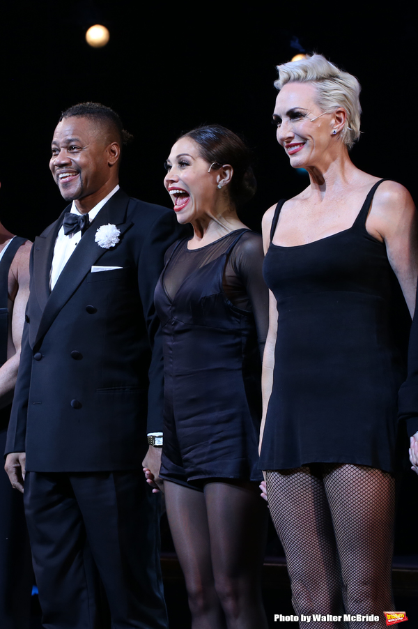 Cuba Gooding Jr., Bianca Marroquin and Amra-Faye Wright