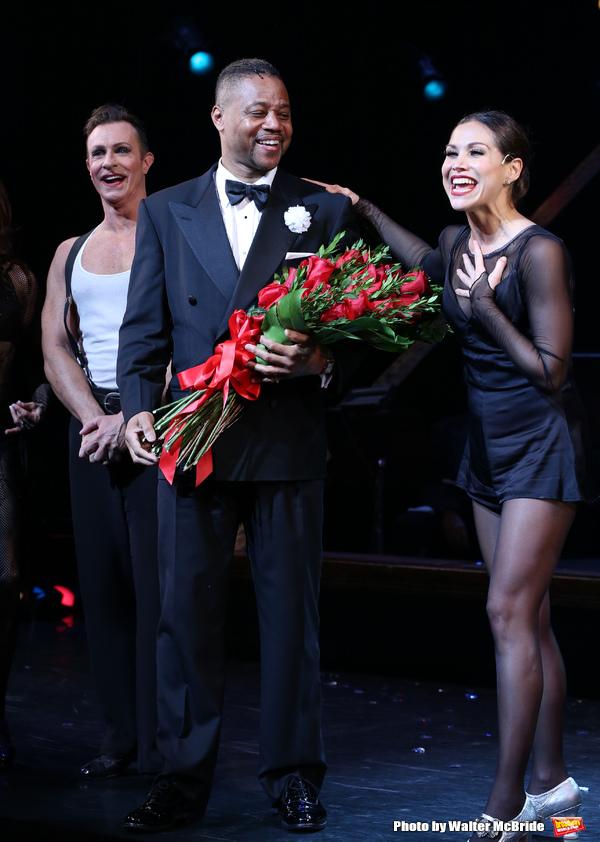 R. Lowe, Cuba Gooding Jr. and Bianca Marroquin
