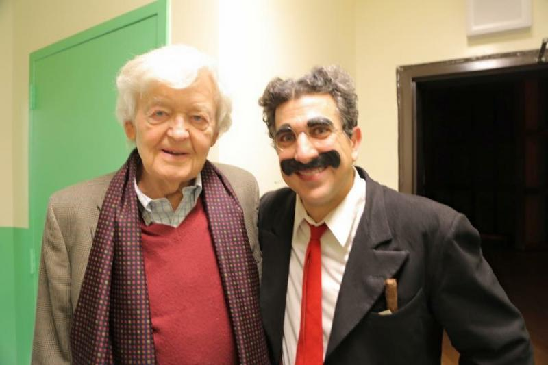 Fascinating Frank Ferrante Returns to The Bartlett Performing Arts Center