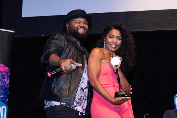 Steve Jones and Angela Bassett