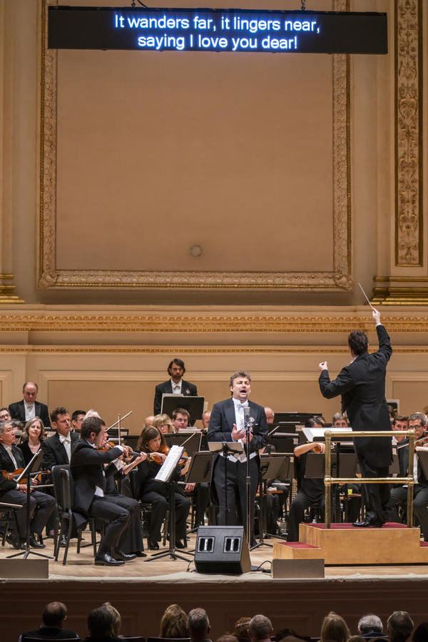 Photo Flash: Jonas Kaufmann at Carnegie Hall with Orchestra of St. Luke's