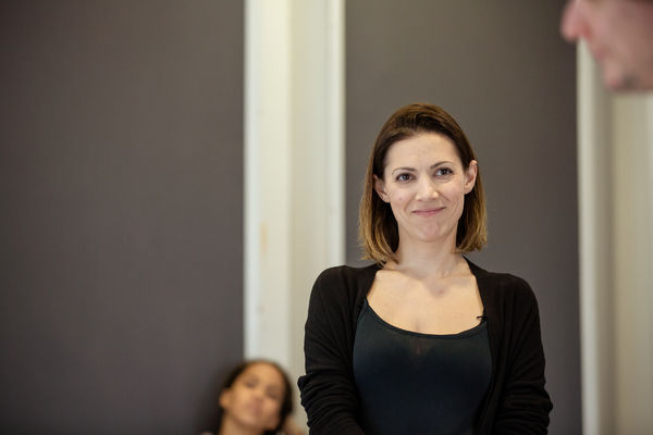 Photo Flash: In Rehearsal with DEALING WITH CLAIR