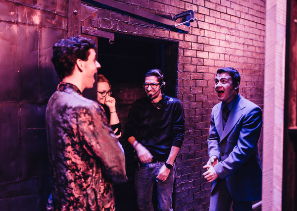 Photo Flash: Backstage at the First Preview of TORCH SONG on Broadway!