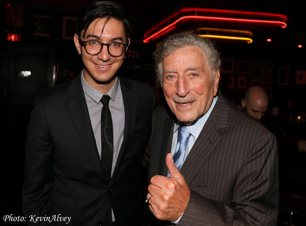 Danny Jonokuchi, Tony Bennett Photo