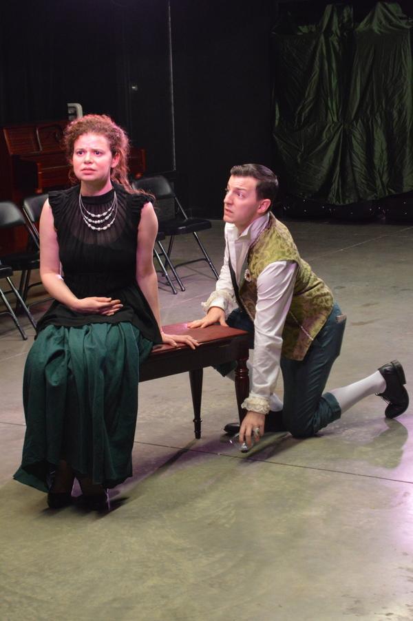 Keith Caram and Abby Wilde Photo