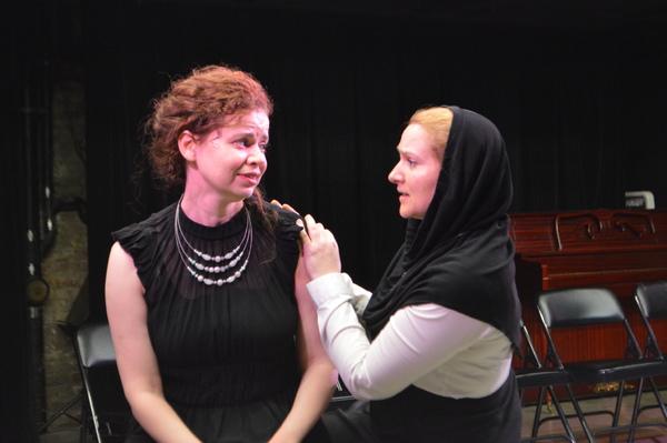 Abby Wilde and Laura Iris Hill Photo