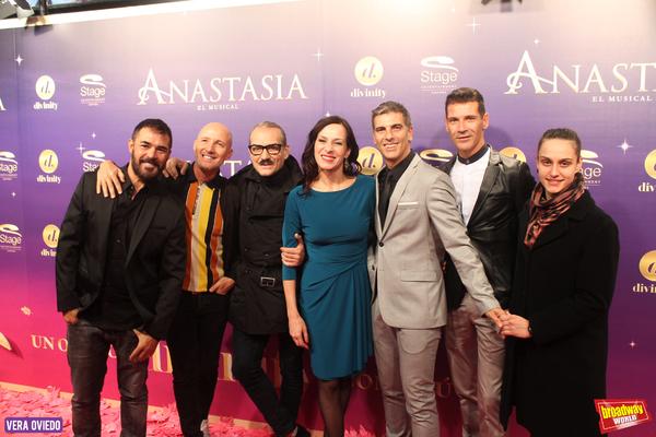 Tomy Alvarez, Antonio Albella, Natalia Millan, Javier Arroyo y Alexandro Valeira Photo