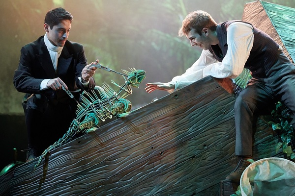 Photo Flash: First Look at THE WIDER EARTH at the Natural History Museum