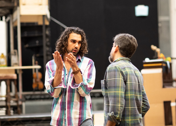 Photo Flash: In Rehearsal For HADESTOWN at the National Theatre