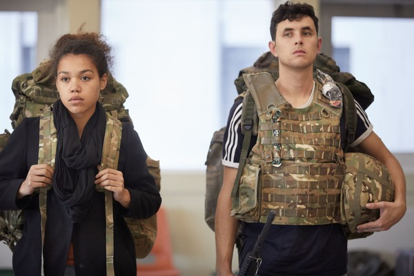 Photo Flash: Inside Rehearsal For CLOSE QUARTERS at Sheffield Theatres