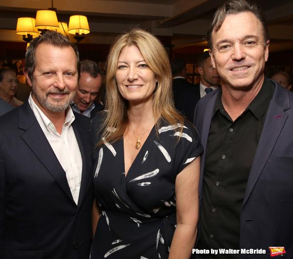 Rob Ashford, Lia Vollack and Derek McLane Photo