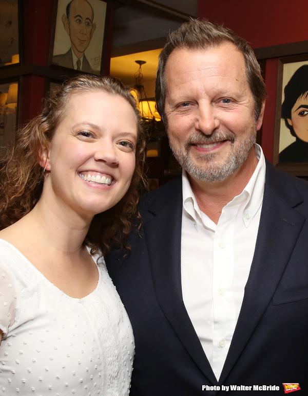 Patti Murin and Rob Ashford