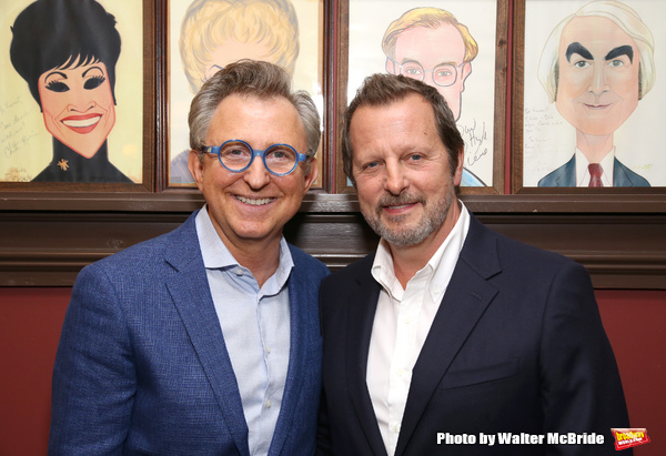 Thomas Schumacher and Rob Ashford Photo