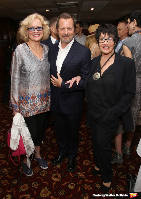 Christine Ebersole, Rob Ashford and Chita Rivera