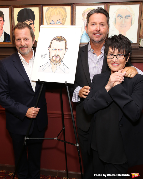 Rob Ashford with his husband and Chita Rivera