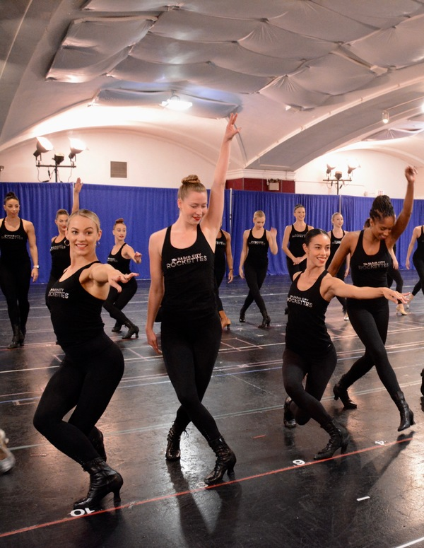 Photo Coverage: The Radio City Rockettes Rehearse Brand New Number for CHRISTMAS SPECTACULAR!