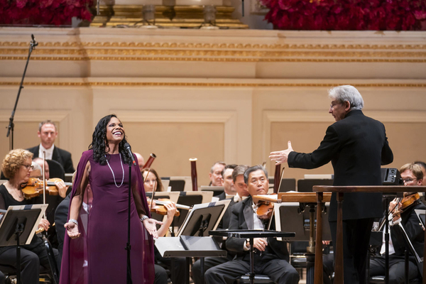Photo Flash: Audra McDonald and Renee Fleming Open the 2018- 2019 Season at Carnegie Hall with The San Francisco Symphony