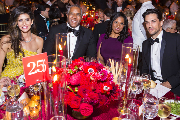 Hope and Robert Smith, Audra McDonald, and Will Swenson