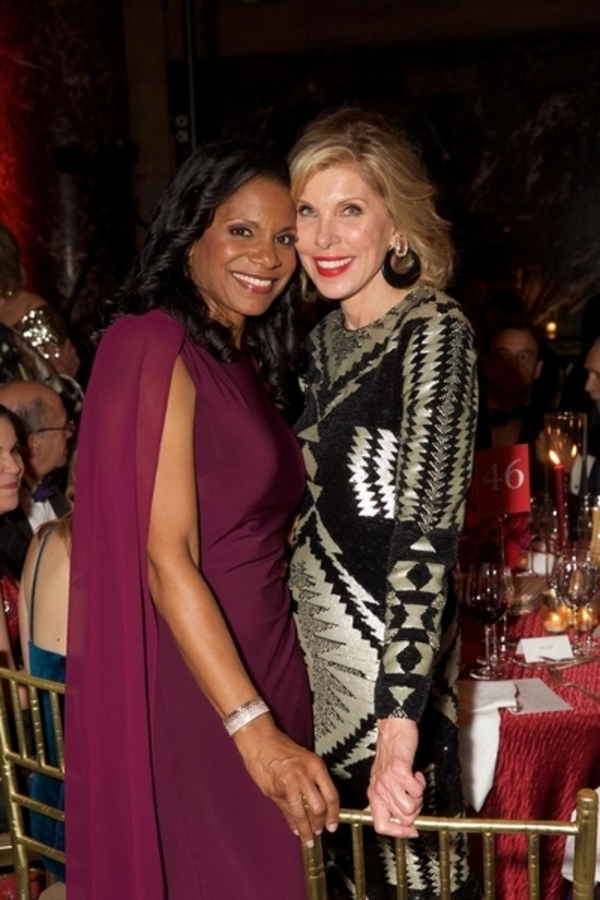 Audra McDonald and Christine Baranski