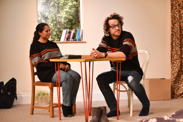 Photo Flash: Michael Frayn's HERE Approaches Final Performances