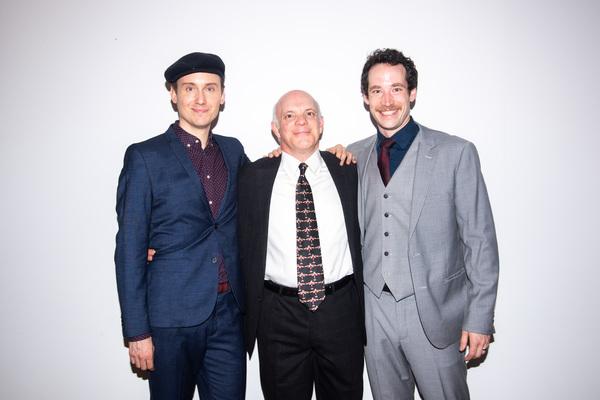 Carlo Bosticco, Eddie Korbich, Logan James Hall