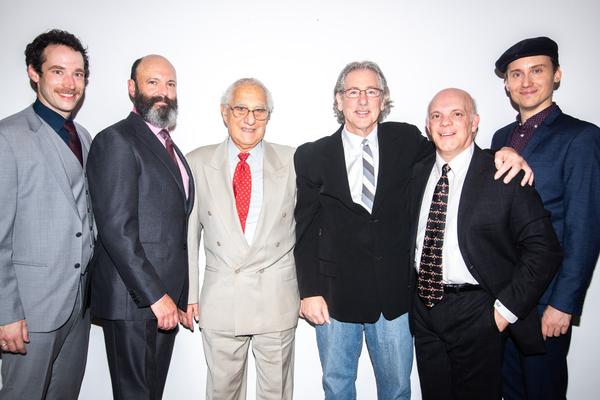 Logan James Hall, Geoffrey Cantor, Robert Kalfin, Michael Parva, Eddie Korbich, Carlo Bosticco