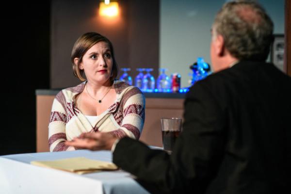 Ben Veatch (Julius) and Alison Plott (Holly)