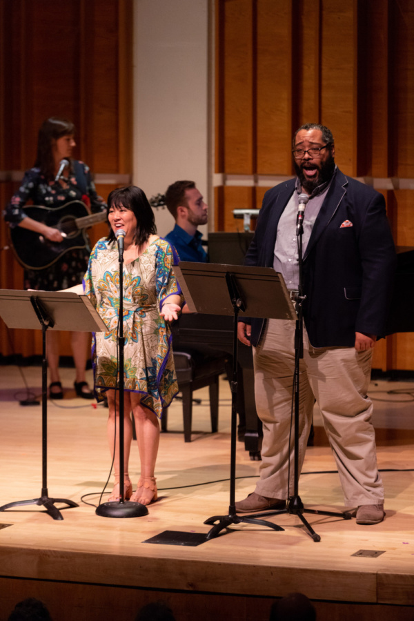 Phoebe Kreutz (guitar), Ann Harada, Andy Collopy (piano), Eddie Cooper  Photo