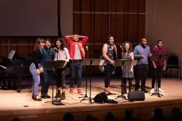 Photo Flash: BOUND FOR BROADWAY Comes to Kaufman Music Center's Merkin Hall