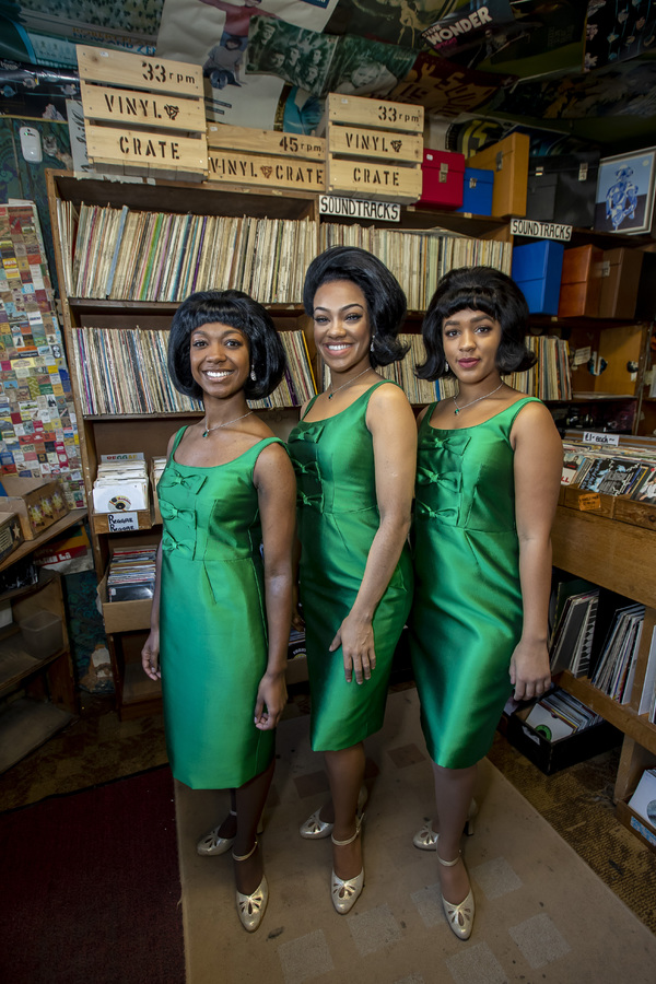 Photo Flash: Diana Ross And The Supremes of MOTOWN Check Out Some Vinyl on National Album Day!