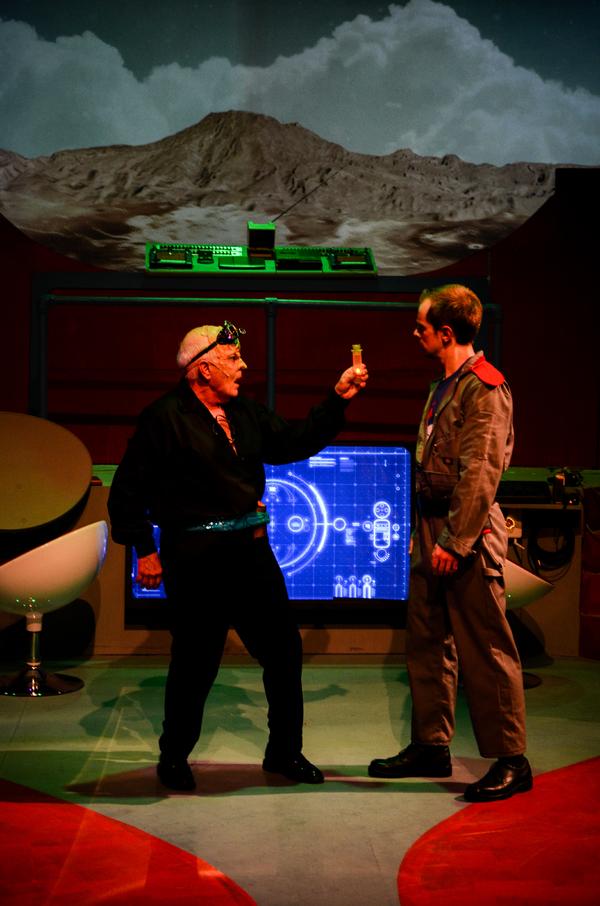 Nelsen Spickard as Prospero, Bob Reed as Captain Tempest