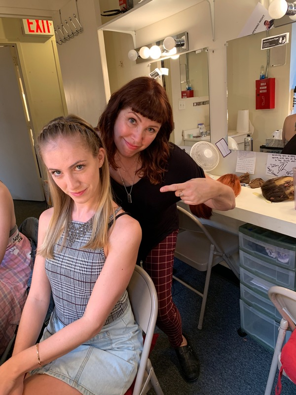 Photo Flash: 'The Office' Hair Supervisor Kim M. Ferry Visits THE OFFICE: A MUSICAL PARODY