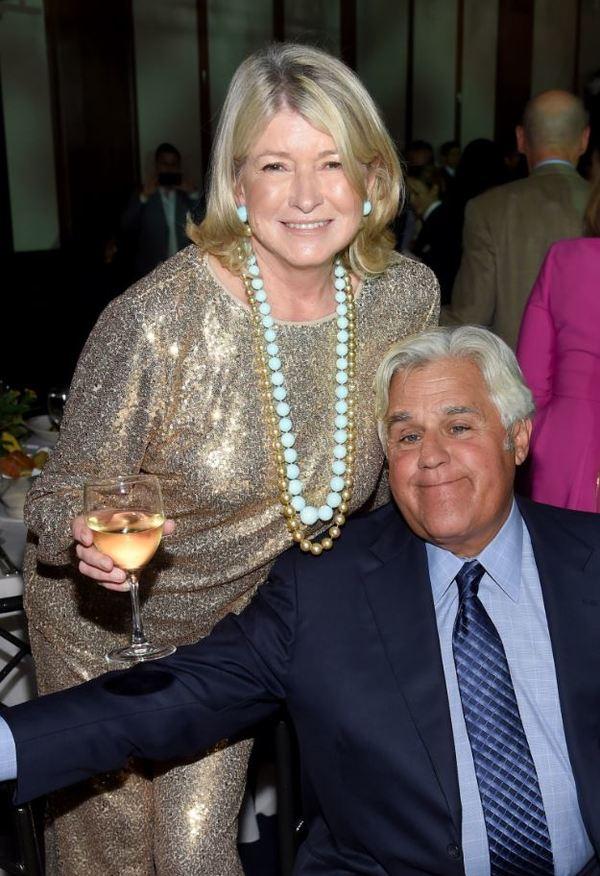 Martha Stewart, Jay Leno
