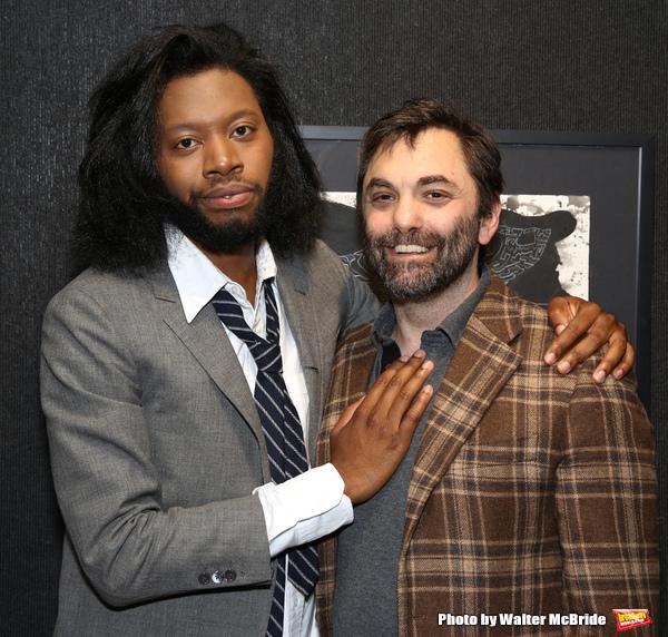 Jeremy O. Harris and Christopher Shinn Photo