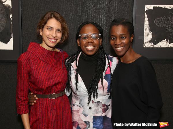 Sarah Stern, Ngozi Anyanwu and Awoye Timpo