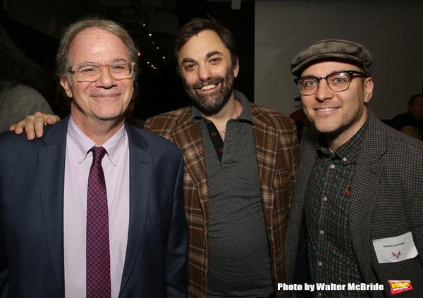Douglas Aibel, Christopher Shinn and Peter Lerman