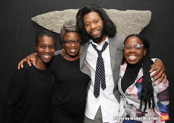 Awoye Timpo, Antoinette Nwandu, Jeremy O. Harris and Ngozi Anyanwu