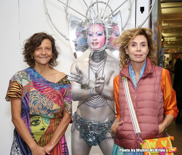 Anita Durst, Darrekll Thorne and Agatha Ruiz de La Prada  Photo