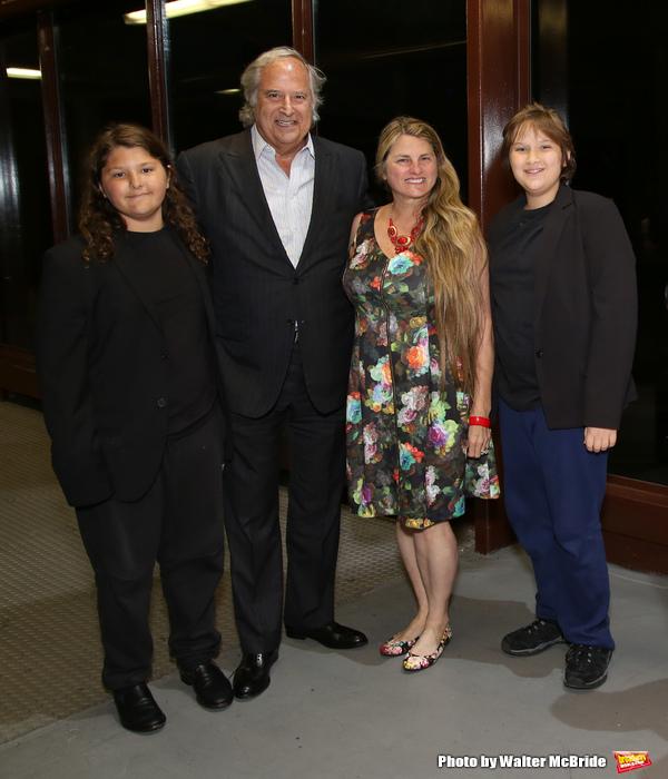 Lenny Lane, Stewart F. Lane, Bonnie Comley and Frankie Lane