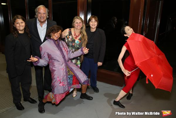 Lenny Lane, Stewart F. Lane, Anita Durst, Bonnie Comley and Frankie Lane