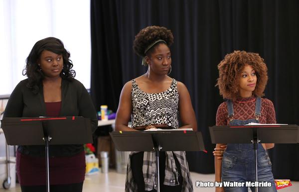 Amma Osei, Amber Iman and Allison Semmes