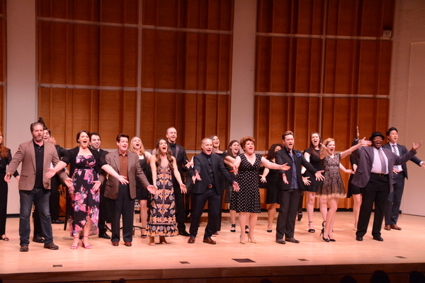Aaron Ramey, Lisa Howard, John Easterlin, Kelli Barrett, Michael Winther, Klea Blackhurst, Brian Charles Rooney, Jillian Louis, Chuck Cooper and The Broadway By The Year Chorus tht includes-Stephanie Bacastow, Annette Berningm Emma Camp, Pedro Coppeti, El