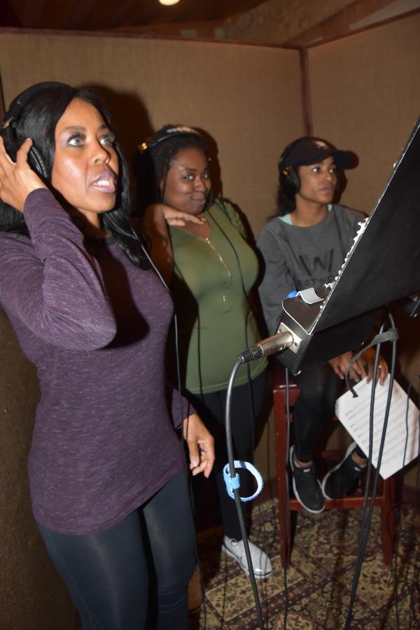 Sharon Catherine Brown, Arica Jackson and Tylor Iman Jones