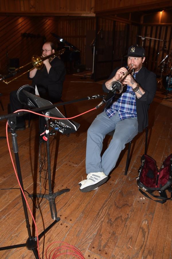 James Rogers (Trombone) and Matt Owens (Trumpet) Photo