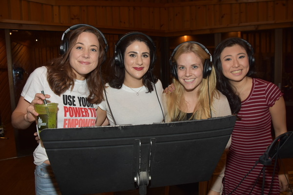 Exclusive Photo Coverage: MEAN GIRLS Cast Rocks Around the Christmas