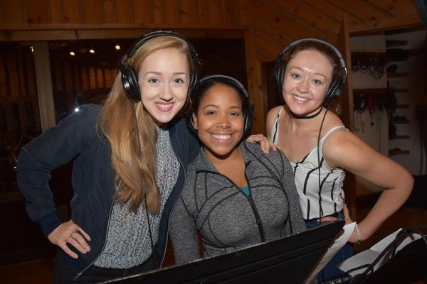 Becca Peterson, Brittany Nicholas and Devon Hadsell